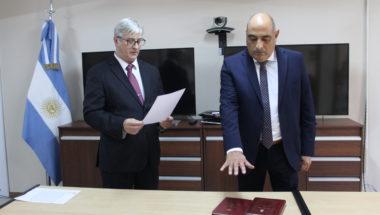 Prestó juramento el nuevo Prosecretario del Juzgado de Familia y Minoridad Nº 2