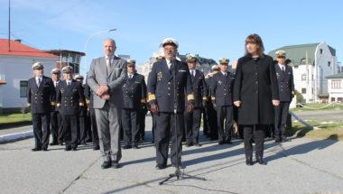 Sagastume participó de la Ceremonia por el 163º Aniversario del Fallecimiento del Almirante Brown