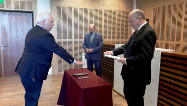 Asumió el Dr. Sardi el cargo de Defensor Mayor del Distrito Judicial Norte