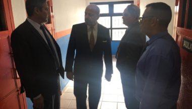 El presidente del Superior Tribunal de Justicia recorrió dependencias del Servicio Penitenciario en Río Grande