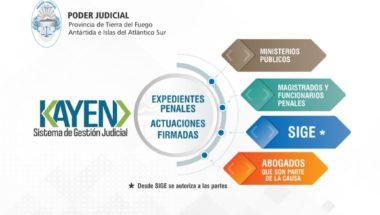 Disponen la visualización de actuaciones firmadas en juzgados penales