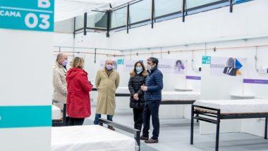 Los jueces del Superior Tribunal de Justicia recorrieron el Polo Sanitario de Ushuaia