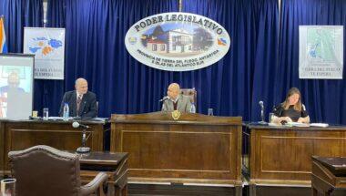El Doctor Sagastume expuso en la Legislatura los fundamentos de la ampliación del Superior Tribunal de Justicia