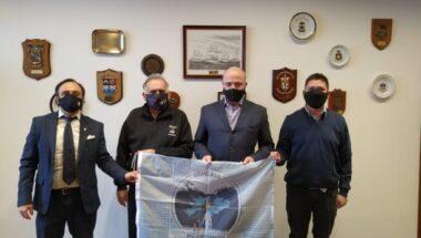 Visita protocolar de representantes del Centro de Ex Combatientes de Malvinas