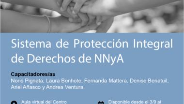 """Capacitación sobre """"Sistema de Protección Integral de Derechos de NNyA"""""""
