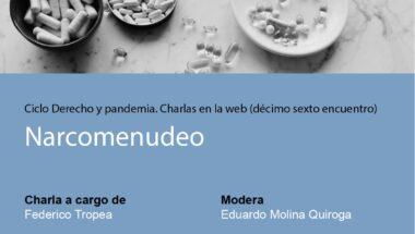 """Se llevará a cabo el último encuentro del """"Ciclo Derecho y Pandemia. Charlas en la web"""""""