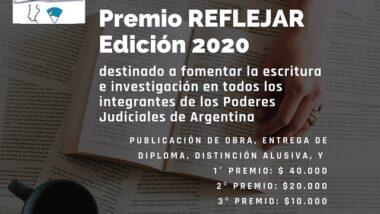 """ABREN CONVOCATORIA PARA PARTICIPAR DEL """"PREMIO REFLEJAR EDICIÓN 2020"""""""