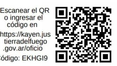 Incorporan el código QR para verificar la autenticidad de documentos en el SAE KAYEN