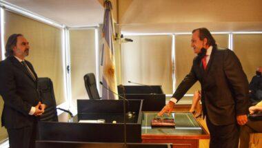 La Dra. Battaini participó de la jura del nuevo Juez del Tribunal Oral en lo Criminal Federal