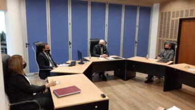 El Superior Tribunal de Justicia recibió a la nueva Comisión Directiva de la Asociación de Magistrados y Funcionarios de Tierra del Fuego