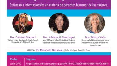 """Se desarrollará una charla virtual sobre """"Perspectiva de Género  como categoría de análisis y su aplicación práctica"""""""