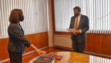 La Doctora Battaini juró como Presidente del Consejo de la Magistratura