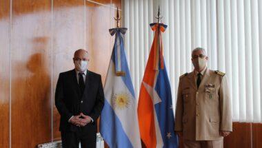 El Dr. Sagastume recibió al Jefe de la Prefectura Ushuaia