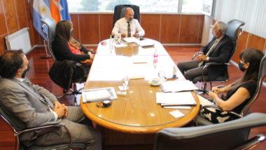 El Dr. Muchnik mantuvo encuentros con áreas administrativas del STJ