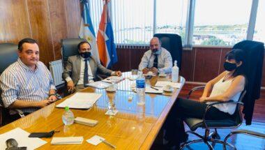 El Dr. Muchnik reanudó los encuentros con áreas administrativas del STJ