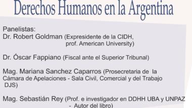 Invitan a participar de la conferencia virtual sobre la protección de los Derechos Humanos en la Argentina