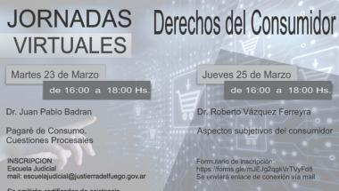"""Se desarrollarán las jornadas virtuales """"Derechos del Consumidor"""""""