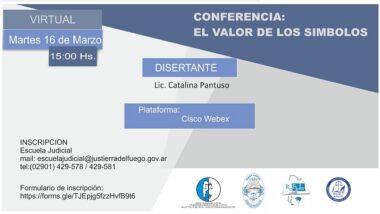 """Dictarán la conferencia virtual """"El valor de los símbolos"""""""