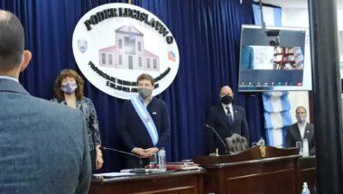 El Dr. Muchnik asistió a la apertura del 38° período de sesiones legislativas
