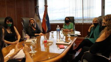 Trabajo articulado en perspectiva de género entre la Secretaria de la Mujer y el Poder Judicial