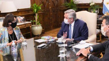 La JUFEJUS y la FAM se reunieron con el Presidente Fernández
