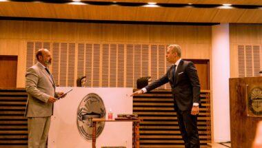 Jura del Dr.Löffler como juez del Superior Tribunal de Justicia