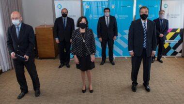 Firman convenio en Nación para mejorar los tiempos judiciales de respuesta