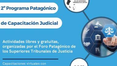Se desarrollará el 2° Programa Patagónico de Capacitación Judicial