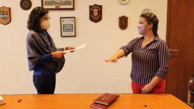 Prestó Juramento la nueva Prosecretaria de la Secretaria de Demandas Originarias