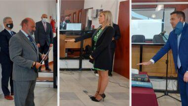 La Dra. Cantiani y el Dr. Cappelotti juraron como jueces interinos en Río Grande