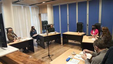Continúa la labor de la Mesa de Trabajo con representantes judiciales