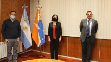 La presidenta del Consejo de la Magistratura recibió a autoridades de FOFECMA