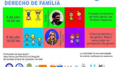 """Invitan a participar de la Jornadas """"Derecho de Familia"""""""