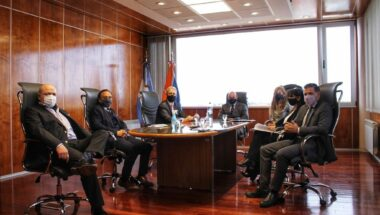 El STJ se reunió con referentes de la Asociación de Magistrados y Funcionarios de la provincia