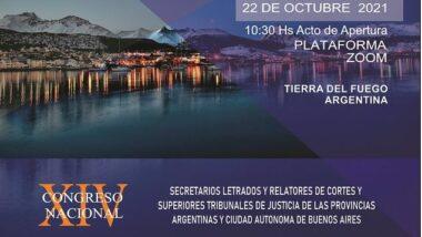 """Inscriben para participar en el """"XIV Congreso Nacional de Letrados y Relatores"""""""